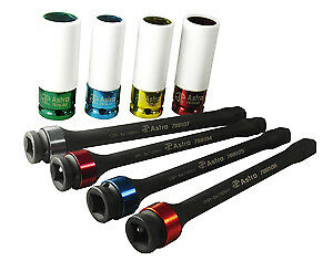 Torque Limiting Extension And Protective Impact Socket Set