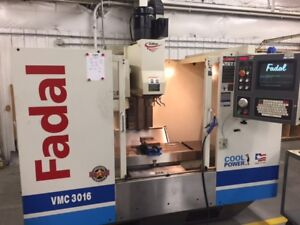 Used Fadal Vmc 3016ht Cnc Vertical Mill 2001 30 16 20 10000 Rpm Haas Vf 2
