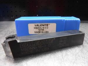Valenite Indexable Lathe Tool Holder 1 x1 Shank Msdnn 16 3 D loc283a