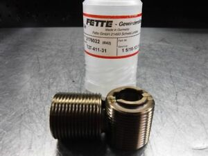 Lmt Fette Thread Rolling Roller Head 1 5 16 12 Un Dies Set 2176022 loc429