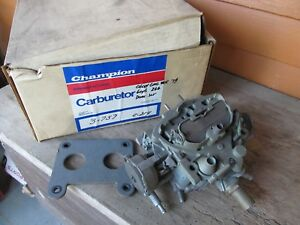 1979 Chevy Rochester Dual Jet 2v Carburetor 6 Cylinder Chevy Gmc Truck