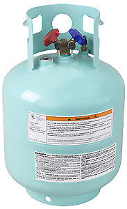 Robinair 50 Lb Refillable Refrigerant Tank For R 134a Tank 34750