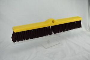4 Qty Rubbermaid 9b17 Plastic Foam Block Heavy duty Floor Sweep Broom Head Only