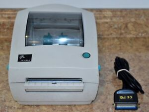 Zebra Lp 2844 Thermal Barcode Label Printer Pre owned Free Shipping 2