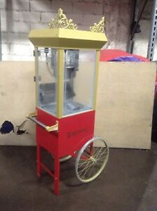 Gold Medal 2660gt Commercial Popcorn Machine Maker Popper Cart Old Fashioned