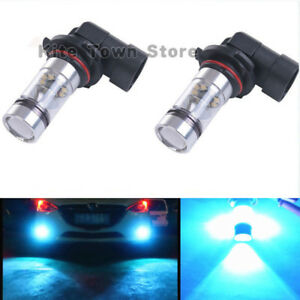 2x 9006 Hb4 8000k Ice Blue 100w High Power Led Fog Light Driving Bulb Lamp Drl