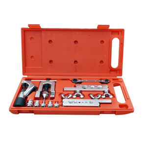 Flaring Swaging Tool Set Plumber Pipe Cutter Air Condition Refrigeration Us