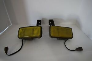 Jdm Honda Civic Ef9 Yellow Fog Light Pair Oem Stanley 010 6683
