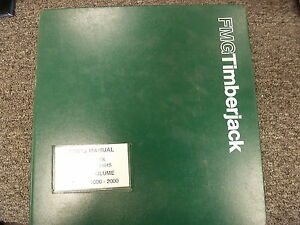 Fmg Timberjack 2618 2628 608 618 628 608b Feller Bunchers Parts Catalog Manual