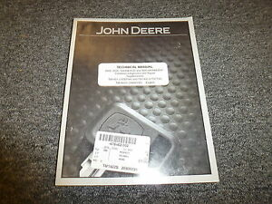 John Deere 9400 9500 9600 Combine Shop Service Repair Technical Manual Tm1402s