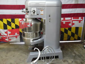 Hobart 60qt Mixer With Auto Bowl Lift And Safety Cage H600t 3 Phase