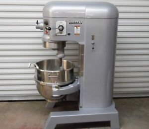 Hard To Find Hobart Auto Lift H600t 60qt Refurbished Mixer 220v 3 Phase