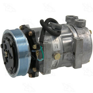 New Compressor Fits 1997 2001 Jeep Cherokee Wrangler Parts Master Four Seasons