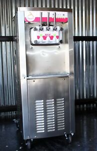 Donper Bh7480 Soft Serve Frozen Yogurt Ice Cream Machine Made In America Nice