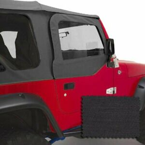 Rugged Ridge Door Skins Set Of 2 New For Jeep Wrangler 1997 2006 Pair 13717 15