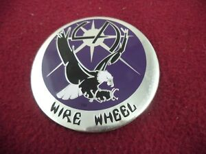 La Wire Wheels Chrome Purple Custom Wheel Decal 1