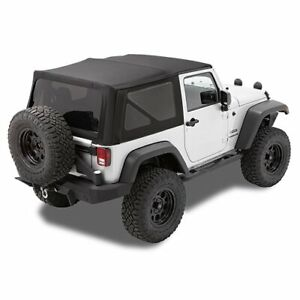 Bestop Soft Top New Black For Jeep Wrangler 2007 2009 79836 17