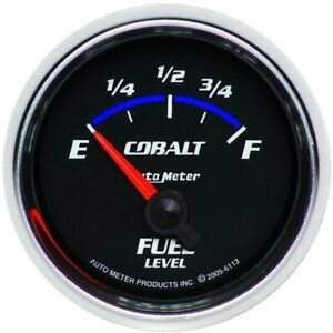 Autometer Fuel Gauge Gas New 6113
