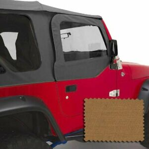 Rugged Ridge Set Of 2 Door Skins New For Jeep Wrangler 1997 2006 Pair 13717 37