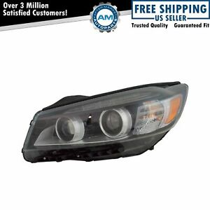 Halogen Headlight Lamp Assembly W Led Accent Driver Lh For Kia Sorento New