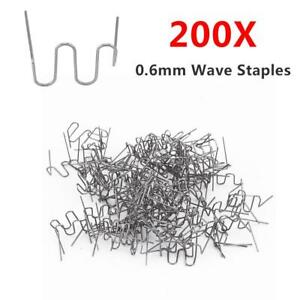 200pcs Rs16 0 6mm Hot Staples Car Bumper Fender Fairing Plastic Repair Welding