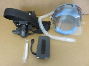 Global Secure Safety Respirator With Hood Filter Carrying Bag hose Damage