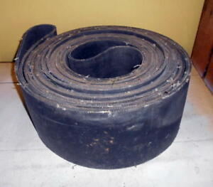 Vintage Flat Pulley Endless Belt 60 X 7 Hit miss Steam Engine Tractor Buzz Saw