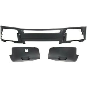 New Bumper Cover Facial Kit Front For Volvo Xc90 Vo1000185 Vo1016100 Vo1017100