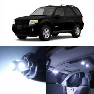 13 X White Led Interior Light Package For 2008 2012 Ford Escape Pry Tool