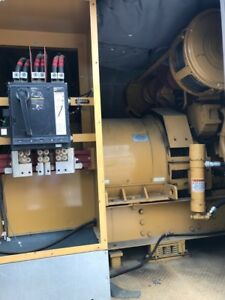 Caterpillar 900kw Diesel Generator 3508 dita 778 Hours Enclosure Base Tank