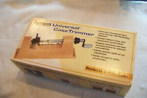 Lyman Universal Case Trimmer # 7862000 Never Used