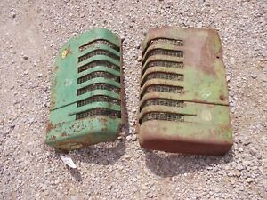 John Deere B Styled Tractor Orignl Jd Front Nose Cone Grill Hood Panel Panels B1
