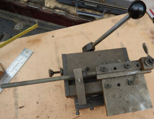 Shop Made Grinding Slide Fixture From A Tool And Die Shop Machinist Tooling