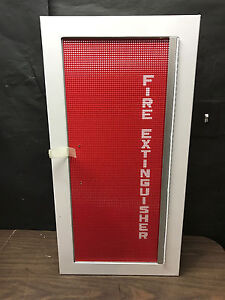 J l Industries Wall Mount Fire Extinguisher Box All Steel