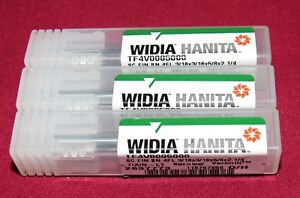 Brand New Hanita Carbide Vari Mill Ball End Mills 3 16 Dia 3 Pcs Lot