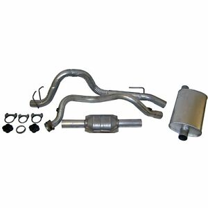 Crown 52018176k Exhaust System For 93 95 Jeep Wrangler yj Assembly