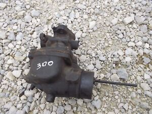 Farmall 300 350 Super H Tractor Ihc Engine Motor Carburetor Assembly Carb