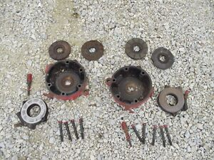 Farmall Sc Super C Tractor Pair Of Ih Disc Disk Brakes Outer Covers