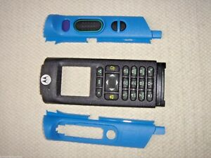 New Motorola Apx6000 Apx8000 M3 Blue Housing Inc Free Shipping Kt000037c01