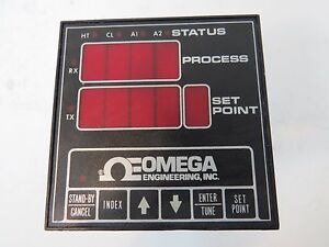 Omega Engineering Temperature Controller 0 1400 Degree f Cn6071a j dc1