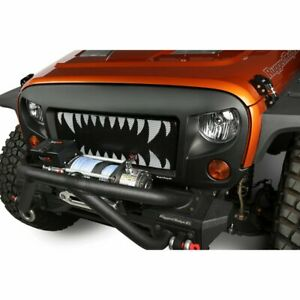 Rugged Ridge Billet Grille New Powdercoated Black For Jeep Wrangler 12034 24
