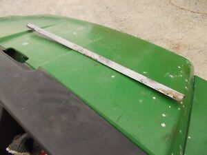 Case 830 Diesel Rowcrop Tractor Chrome Trim Hood Strip Along The Tank