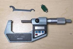 Mitutoyo 1 2 Inch Digital Micrometer No 293 712 With Standard Wrench No Case