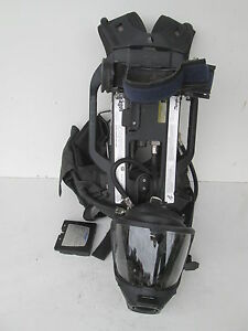 Drager Pss7000 Sentinel 4500psi Scba Pack Frame Harness With Pass Hud Mas