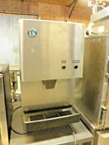 Hoshizaki Dcm 270bah 280 Lb 17 Air Cooled Ice Maker Water Dispenser With Bin