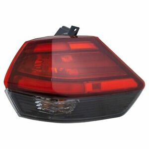 Outer Tail Light Lamp Assembly Rh Rr Passenger Side For Nissan Rogue Suv New