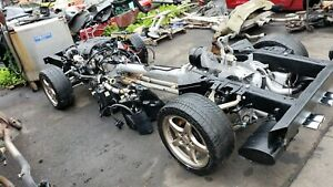 2000 Corvette C5 Rolling Chassis With Ls1 Engine And Manual Transmission 63k