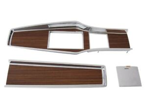 Pg Classic 331 70set Mopar 1969 71 A Body Woodgrain 4 Speed Console Plate Set