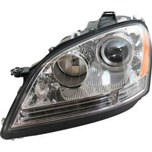 Halogen Headlight Left Side For 2006 2008 Mercedes Ml Class To Chassis A 453758