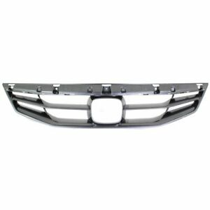 Grille 2011 2012 For Honda Accord Gray 2 door Coupe